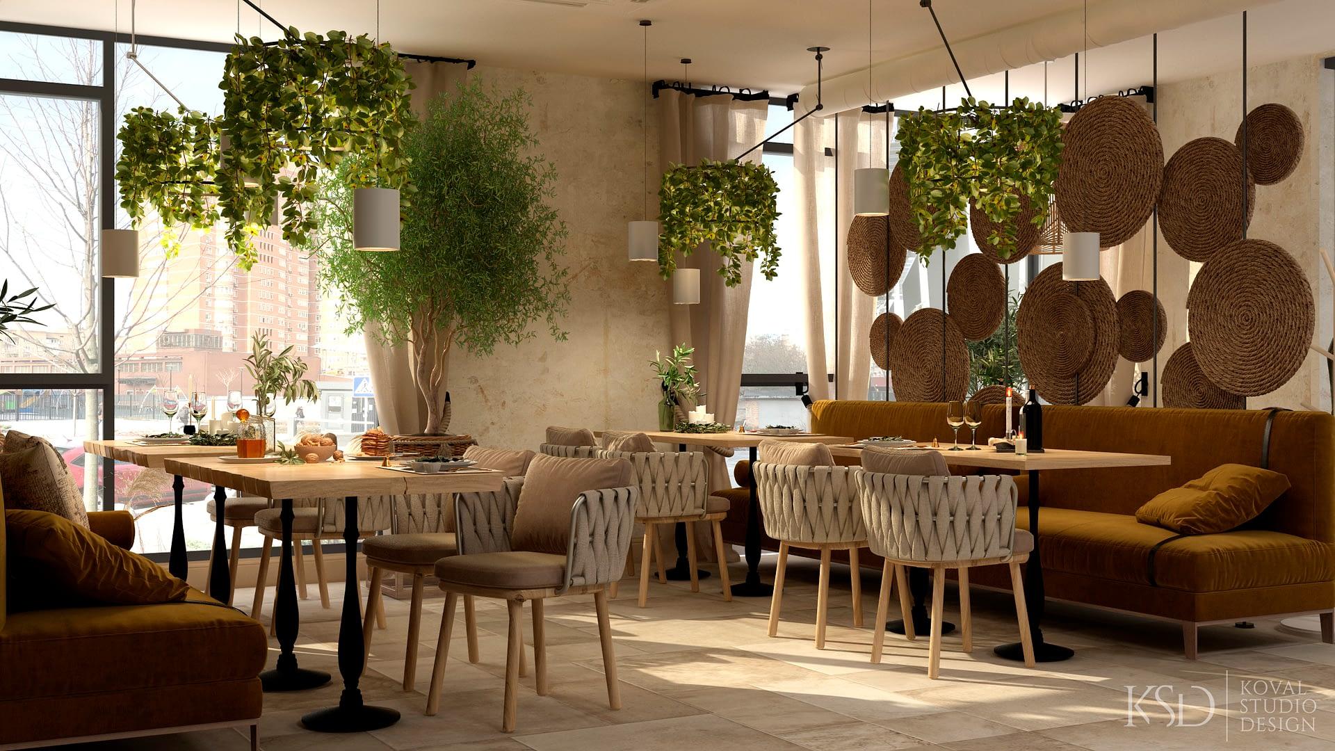дизайн-проект ресторана
