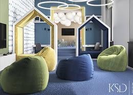 детская комната для офиса